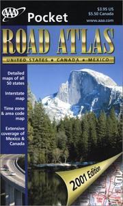 Cover of: AAA Pocket Edition Road Atlas 2001 | American Automobile Association.