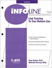 Cover of: Info-line | Dean Spitzer
