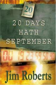 Cover of: 20 Days Hath September | James Roberts