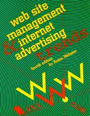 Cover of: Web Site Management & Internet Advertising Trends