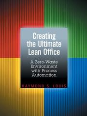 Cover of: Creating the Ultimate Lean Office