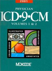Cover of: 2001 Physician ICD-9-CM, Volumes 1&2 | Ingenix Medicode