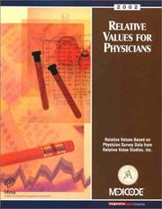 Cover of: Relative Values for Physicians | Medicode