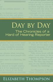 Cover of: Day by Day | Elizabeth Thompson