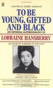 Cover of: To Be Young, Gifted and Black