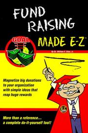 Cover of: Fund Raising Made E-Z (E-Z Legal Guide) | William F. Jr. Stier