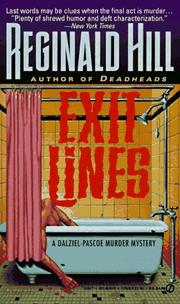 Cover of: Exit Lines (Dalziel-Pascoe Mystery)
