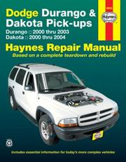Cover of: Dodge Durango & Dakota Pick-ups | John Harold Haynes