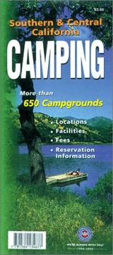 Cover of: Southern & Central California Camping | Automobile Club of Southern California.
