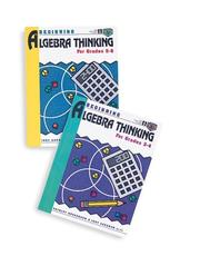 Cover of: Beginning Algebra Thinking, Grades 3 to 4 | Judy Goodnow