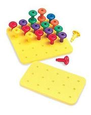 Cover of: Easy Grip(r) Pegs and Playpad Set (Easy Grip Pegs & Playpad Sets) | Ideal