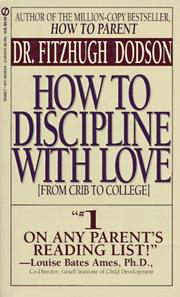 Cover of: How to Discipline | F. Dodson