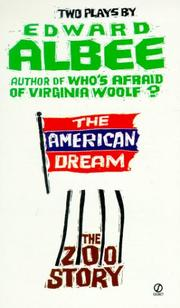 Cover of: The American Dream and Zoo Story
