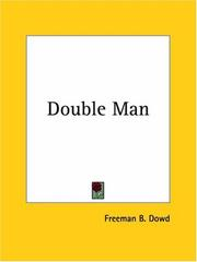 Cover of: Double Man | Freeman B. Dowd