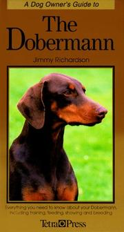 Cover of: A Dog Owner's Guide to the Dobermann (Dog Owner's Guides)
