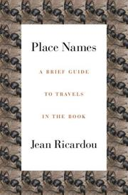 Cover of: Place Names (French Literature)