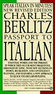Cover of: Passport to Italian