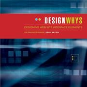 Cover of: Designing Wesbsite Interface Elements