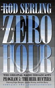 Cover of: The Zero Hour 05