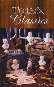 Cover of: Toolbox Classics | Woody Phillips