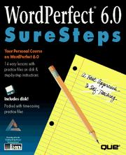 Wordperfect 6.0 Suresteps