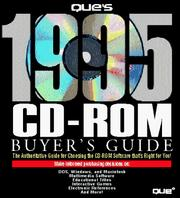 Cover of: Que's 1995 Cd-Rom Buyer's Guide
