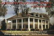 Cover of: Louisiana Plantation Homes Postcard Book