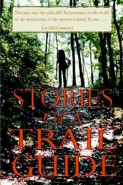 Cover of: Stories of a Trail Guide | Gerald Coomer