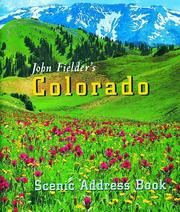 Cover of: John Fielders Colorado Address Book | John Fielder