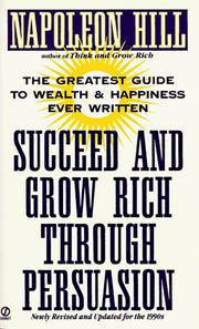 Cover of: Succeed and Grow Rich Through Persuasion