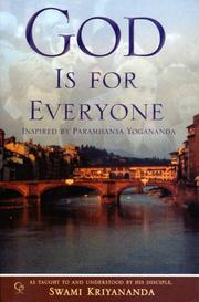 Cover of: God is For Everyone