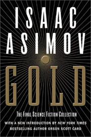 Cover of: Gold: The Final Science Fiction Collection