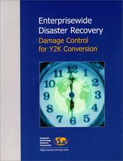 Cover of: Enterprisewide Disaster Recovery
