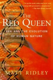 Cover of: The Red Queen: sex and the evolution of human nature
