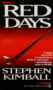 Cover of: Red Days