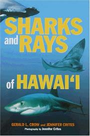 Cover of: Sharks & Rays of Hawaii | G. L. Crow