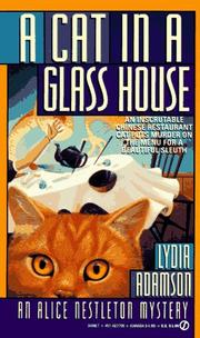 Cover of: A Cat in a Glass House (Alice Nestleton Mystery) |
