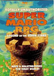 Cover of: Totally Unauthorized Super Mario RPG