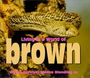 Cover of: Living in a World of - Brown (Living in a World of)