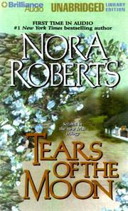 Cover of: Tears of the Moon (Irish Jewels Trilogy) | Nora Roberts