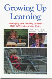 Cover of: Growing Up Learning | Walter B. Barbe