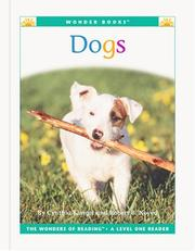 Cover of: Dogs (Wonder Books Level 1 Pets) | Cynthia Fitterer Klingel, Robert B. Noyed