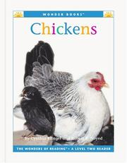 Cover of: Chickens (Wonder Books Level 2 Farm Animals) | Cynthia Fitterer Klingel