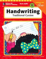Cover of: Basic Skills Handwriting, Traditional Cursive (Basic Skills) | Suzanne Lowe Wilke