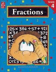 Cover of: Fractions, Grade 4 | Bill Linderman