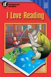 Cover of: I Love Reading, Level 8