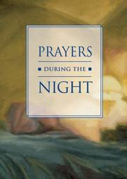 Cover of: Prayers During the Night |