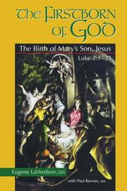 Cover of: Firstborn of God: The Birth of Mary