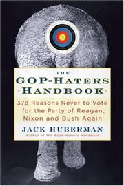 Cover of: The GOP-Hater