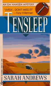 Cover of: Tensleep | Sarah Andrews